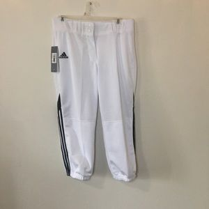 NWT Adidas Women's Softball PANTS -M
